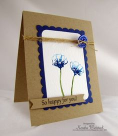 Tutorial: Watercolored Flowers & Frames - stampTV