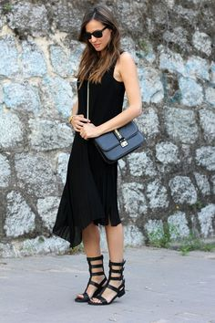 30 Ways to Wear Your Go-To Black Dress All Summer | StyleCaster