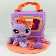 Lps purple persian cat