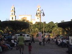 Mérida en domingo.