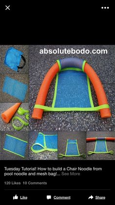 Pool bag/lounger