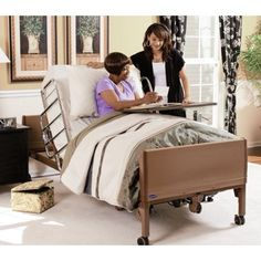 The Invacare Homecare Full Electric Hospital Bed supplies users with fully articulating bed frame, as well as provides a variety of mattresses and bed rails for protection, safety and comfort. Buy your Invacare Homecare Full Electric Hospital Bed today fr Best Mattress, Foam Mattress, Cama Solar, Bed Deck, Sleep Specialist, Best Hospitals, Hospital Bed, Bed Rails, Beds For Sale