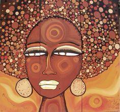 Afro Afro, Mona Lisa, Artwork, Work Of Art, Africa