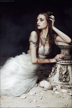 Fairy tale fashion fantasy. Song to the Siren • Singapore Brides Aug 2012 • ph: Zhang Jingna