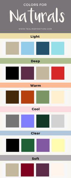 Colors for Naturals