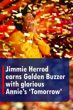 'America's Got Talent' is dumbfounded by modest Portland singer Jimmie Herrod whose superb rendition of 'Tomorrow' from the musical 'Annie' earned him a golden buzzer. Deceivingly unimpressed 'AGT' judge Sofía Vergara pressed the buzzer, sending Jimmie straight to 'AGT' live show. #agt #goldenbuzzer #tomorrow #music #singing Live Music, Good Music, Bad Songs, Shock And Awe, Buzzer, Sofia Vergara, I Am Bad, Portland