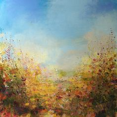 "Saatchi Online Artist Sandy Dooley; Painting, ""Bright Autumn  "" #art"