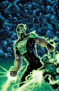 Green lantern# 16 by Doug Mahnke