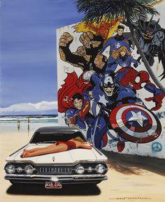 ALAIN BERTRAND | Superheroes on the beach