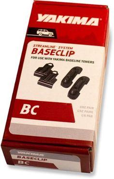 Yakima BaseClips - Set of 2 Black Bc165