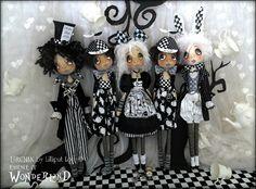 Half payment for Urchin art dolls Wonderland by lilliputloft