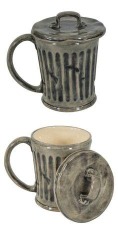 Coole und lustige Teetassen und Kaffeetassen – # Cool and funny teacups and coffee cups – # Cool Mugs, Unique Coffee Mugs, Funny Coffee Mugs, Pottery Mugs, Ceramic Pottery, Pottery Art, Ceramic Cups, Ceramic Art, Objet Wtf