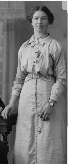 Picture of Ivy Mildred Baulch, Mt Eccles, Circa 1905