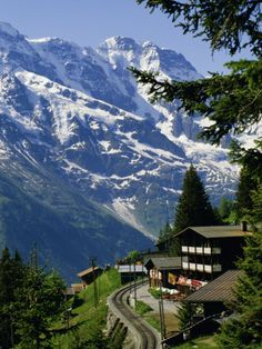 Jungfrau Region, Bernesse Oberland, Swiss Alps, Switzerland