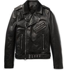 Balmain - Leather Biker Jacket
