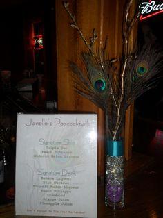 Bachelorette Party Peacocktails