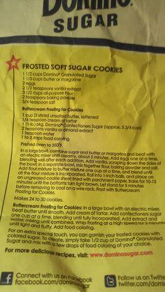Best sugar cookie recipe by shari in 2019 Soft Sugar Cookies, Candy Cookies, No Bake Cookies, Cookie Desserts, Holiday Cookies, Cupcake Cookies, Cookie Recipes, Dessert Recipes, Cupcakes