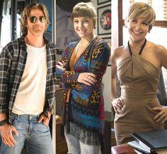 Na novela 'A Lei do Amor', Isabela (Alice Wegmann) é a filha verdadeira de Pedro (Reynaldo Gianecchi... - Divulgação, TV Globo