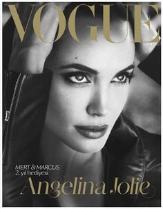 Angelina in Vogue Turkey March 2012