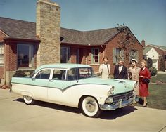 Ford Fairlane 4 Doors '55