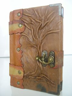 Fantastic book cover! <3 I may try something similar in clay.