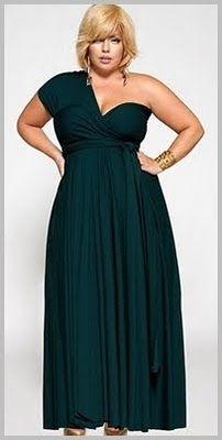 Linda GG: Pedido da leitora: Vestidos de festa plus size par...