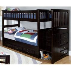 H3 Saturn Bunk Bed H3 Br The Saturn Bunk Is A Low Rise Loft