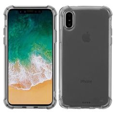 TalkingCase Clear TPU Phone Case for Apple iPhone XR,xr,Eat Shit Mountain Print,Light Weight,Flexible,Anti-Scratch,Tempered Glass Screen Protector Included,Designed in USA