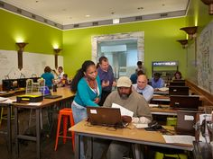 The Maker Lab, on the 3rd floor of the Harold Washington Library Center, offers free workshops, open lab hours and drop-in demonstrations.