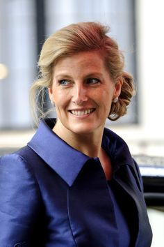 Sophie Countess Of Wessex Chignon
