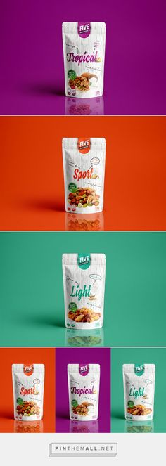 AlimenTuc Saludables Nuts Printed Stand-up Pouch. #Surepak #Packaging