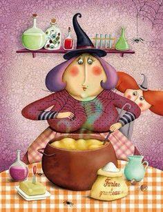 Kitchen Witchery:  #Kitchen #Witch.