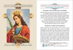 Resultado de imagem para Novena Santa Catarina de Alexandria