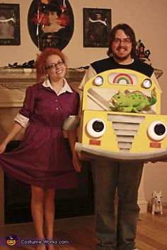 Magic School Bus and Miss Frizzle