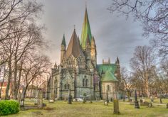 Visiting the Beautiful City of Trondheim, Norway and the Nidaros Cathedral Bergen, Oslo, Norway Places To Visit, Trondheim Norway, Scandinavian Countries, Medieval Life, Place Of Worship, Barcelona Cathedral, Tourism