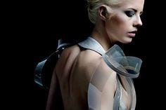 Intimacy 2.0 by Studio Roosegaarde Dress Turns Transparent #fashion trendhunter.com