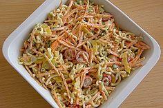 Gabelspaghettisalat 1