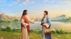 """Why Only Peter Recognized Jesus As Christ? Bai Xue The Bible records, """"When Jesus came into the coasts of Caesarea Philippi, he asked his disciples, saying, Whom do men say that I the Son of man am? And they said, Some say that you are John the Baptist: some, Elias; and others, Jeremias, or one of the prophets... #Christian #gospel #faith #Jesus #Christ #bible #testimony"""