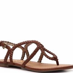 Brown Sandals With Box