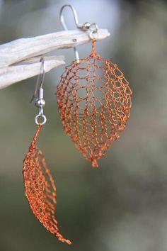 Wonderful DIY Wire Crochet Jewelry