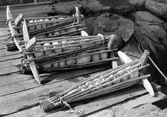 St Margaret, Nova Scotia, Firewood, Mixed Media, Folk, Traditional, Crafts, Design, Art