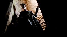 Eleanor descending to the catacombs