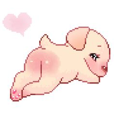 The perfect Puppy Butt Cute Animated GIF for your conversation. Discover and Share the best GIFs on Tenor. Pixel Kawaii, Gif Kawaii, Kawaii Art, Cute Pixels, Pixel Life, Aesthetic Gif, Cute Gif, Cat Memes, Humor