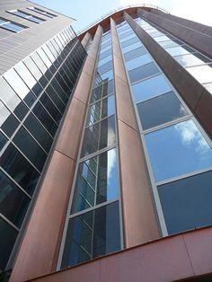 Rabobank - Fiberglass panels covered with VeroMetal Copper