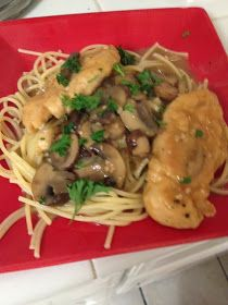 Home Style with a Side of Gourmet: My Go to Chicken Marsala