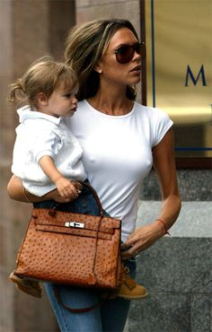 Victoria Beckham and her Hermes Kelly