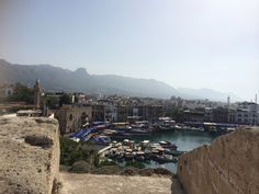 View from  Kyrenia Castle.  Looking for professional wedding and event planners? More info and North Cyprus holiday Villas and Apartments to rent or buy. www.cyprusluxurydestinatoons.com #weddings #weddingplanner #northcyprus  #apartments #villas #travel #honeymoons #spas #weddingveil #lingerie #food #bridal #weddingdresses #grooms #shoes #jewellery #yoga #brides # golf #luxury