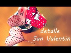 ♥ Corazones de origami con piruleta o paleta inclusivee para San Valetin!! - YouTube