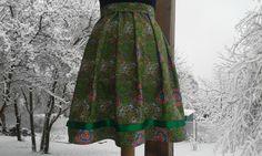 Skládaná sukně XS-m na míru