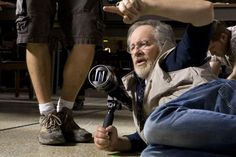 Spielberg en el rodaje de Lincoln dirigiendo a 3 grandes,